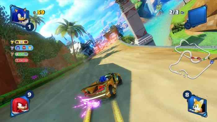 Team Sonic Racing 2021 big year