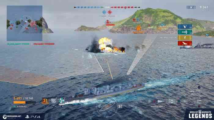 world of warships top