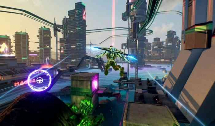 The New Crackdown 3 Flying High Update Gives Players a Wingsuit