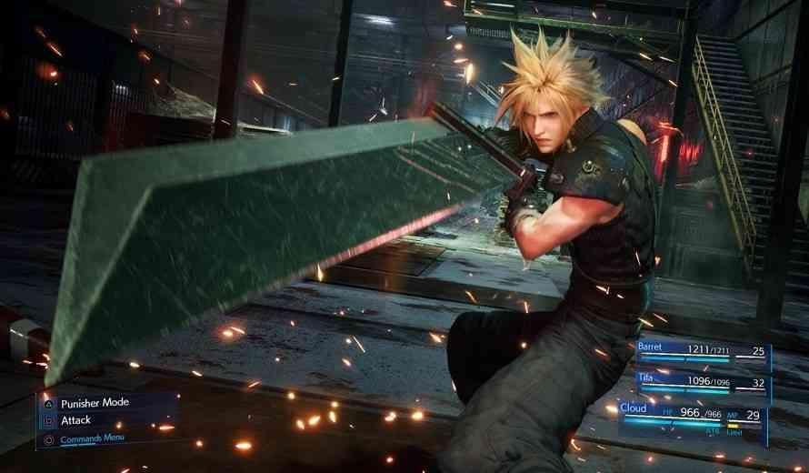 Final Fantasy 7 Remake Coming to Jump Festa