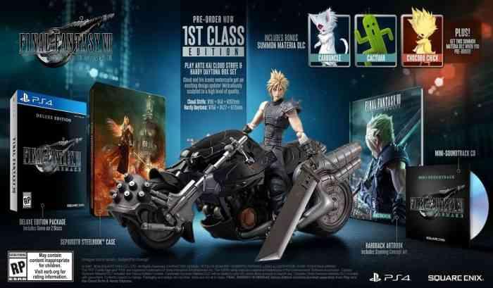 Final Fantasy VII Remake Collector's Edition