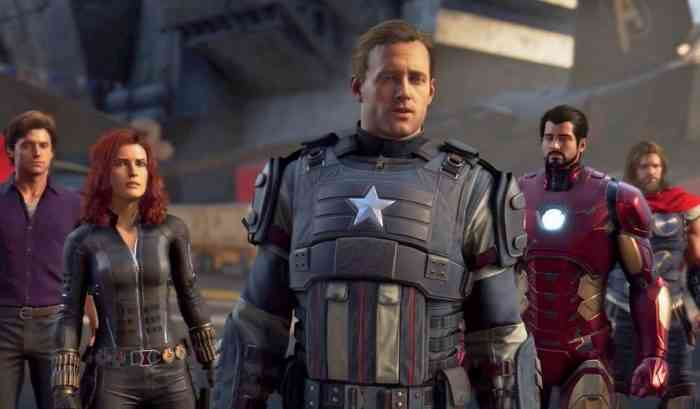 Marvel's Avengers Crystal Dynamics