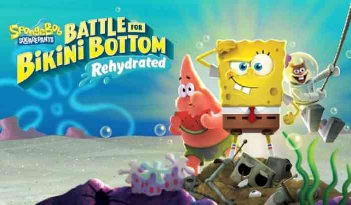 SpongeBob Battle for Bikini Bottom Rehydrated Gameplay