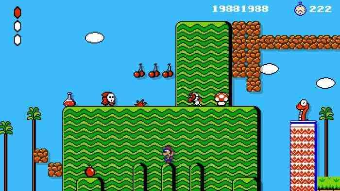 Super MArio Maker 2 - Super Mario Bros 2