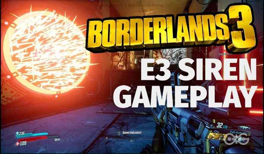 New Weapons, More Loot and New Characters Shine in Borderlands 3 Gameplay Video