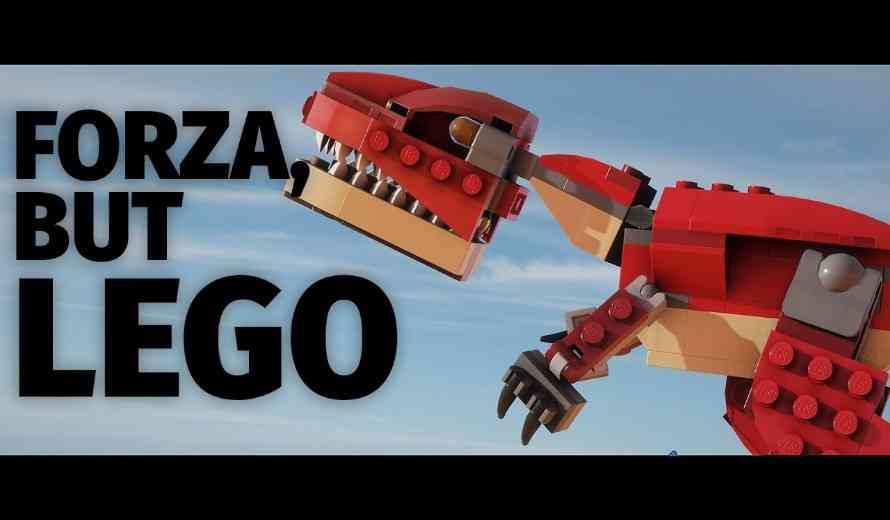 Forza Horizon 4 in Lego is Pure Magic in Gameplay Video
