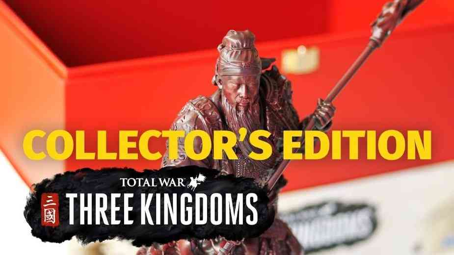 Total War: Three Kingdoms Collectors Edition Unboxing Video Shows Awesome Statue