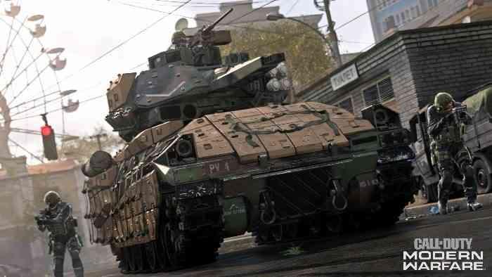 Modern Warfare Screen