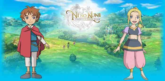 Ni no Kuni Wrath of the White Witch top