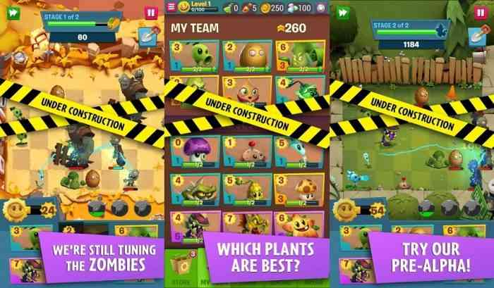 Plants Vs Zombies 3 Pre-Alpha