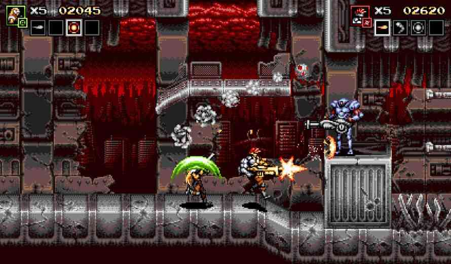 Blazing Chrome Review – Classic Contra-Like Action   COGconnected