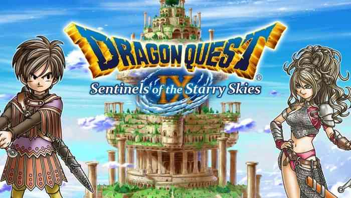 Dragon Quest Devs Interested in Dragon Quest IX Remake