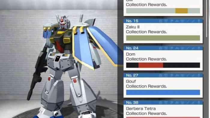 Gundam Game Mobile