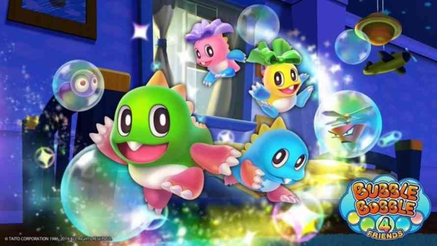 Nintendo Switch Launching Bubble Bobble 4 Friends
