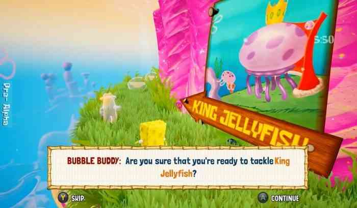 THQ Nordic Releases Battle for Bikini Bottom Rehydrated Gameplay