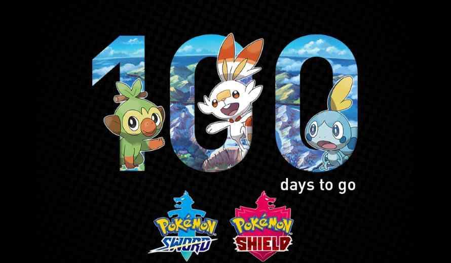 100 Days Out Giveaway: Win a Nintendo Switch & Pokémon Sword and Pokémon