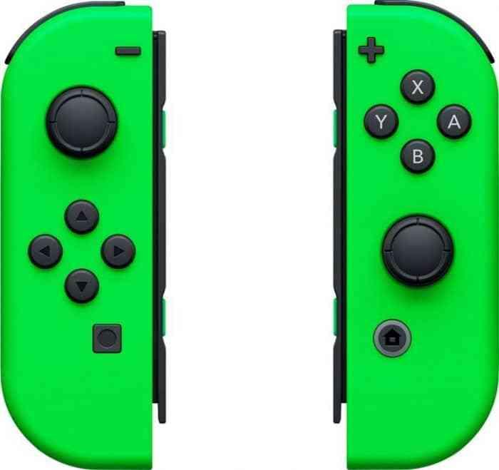 best buy neon green joy-cons