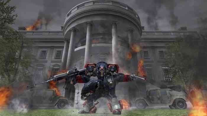 Metal Wolf Chaos XD behind the scenes video
