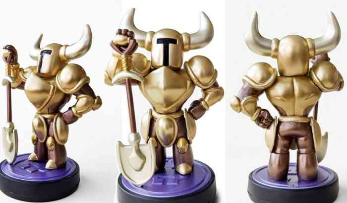 Shovel Knight Gold Edition Amiibo Announced By Yacht Club Games | COGconnected