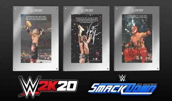 WWE 2K20 Pre-Order Bonuses