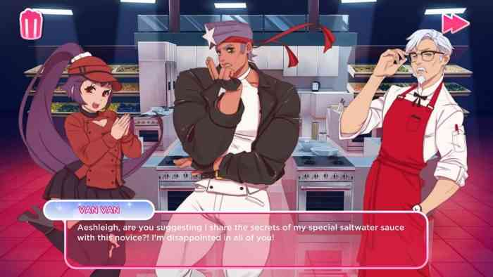 KFC Dating Sim