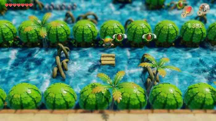 Nintendo legend of zelda link's awakening hero