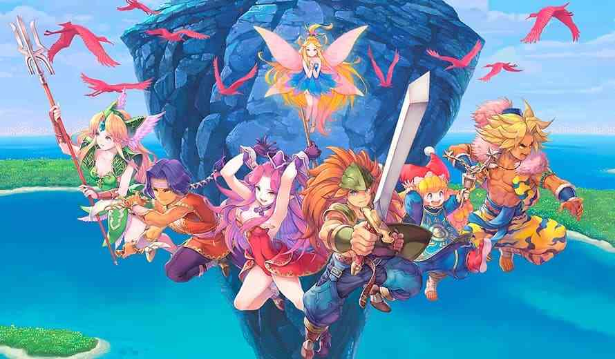 Trials of Mana Boss Fight Streamed at TGS 2019