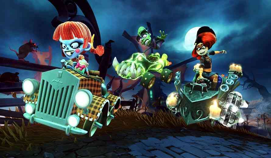 Crash Team Racing's Spooky Grand Prix Is off to the Races