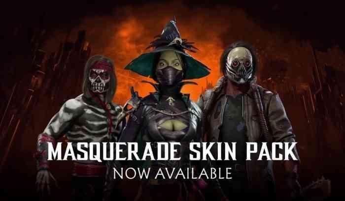 Mortal Kombat 11 Halloween Skins