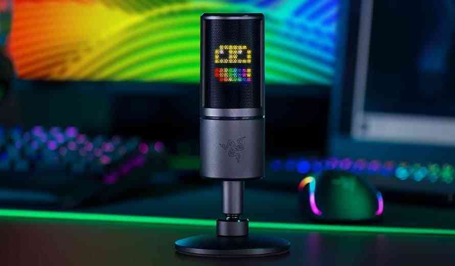 Razer Seiren Emote Mic is a Must-Have For Aspiring Streamers and YouTubers