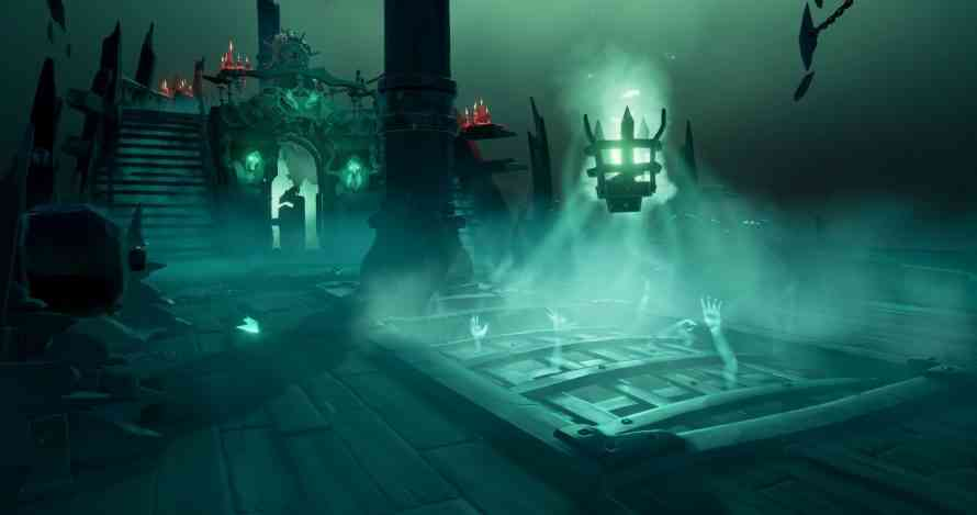 The Fort of the Damned Coming to Sea of Thieves