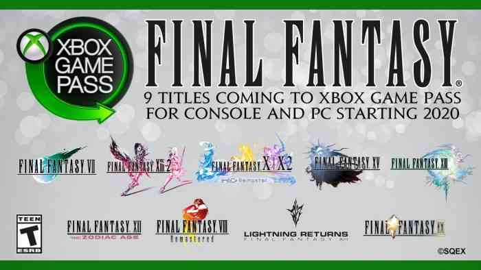 Final Fantasy Game Pass