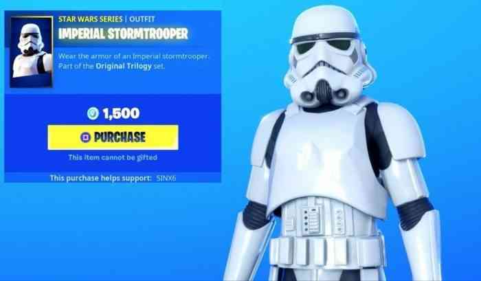 Fortnite X Star Wars