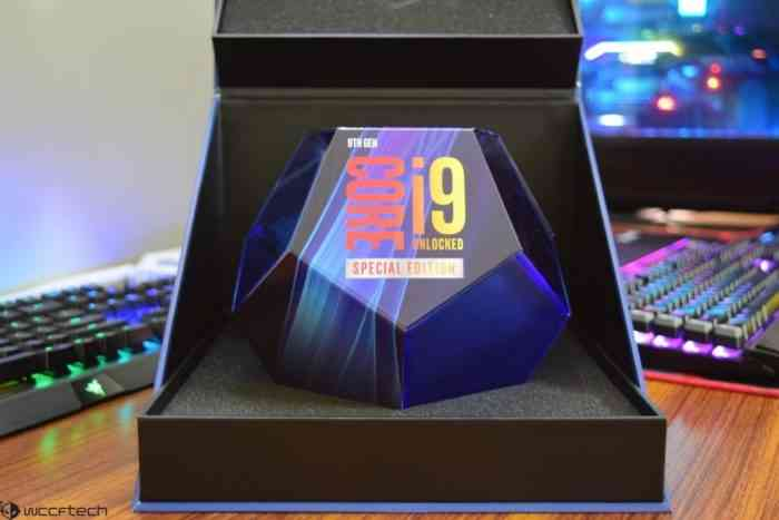 Intel's 9th Generation Core i9-9900ks Special Edition