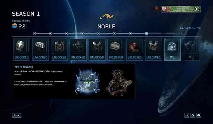 Master Chief Collection Progression System