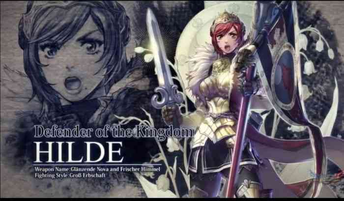 Soulcalibur VI Reveals Hilde as Newest Playable Character