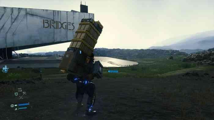 death stranding boxes