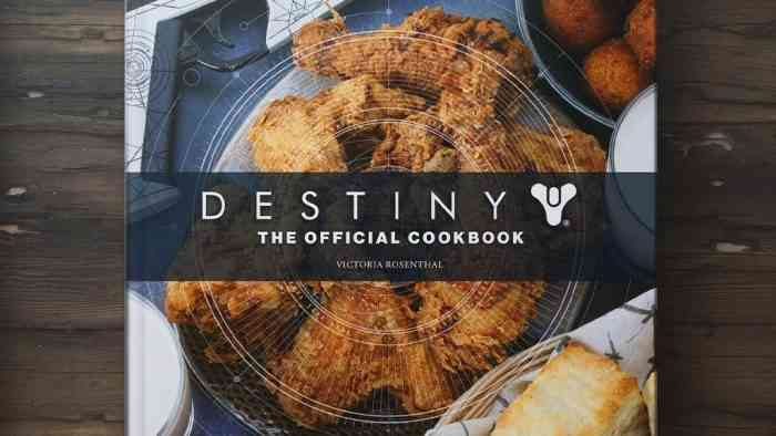 destiny cookbook