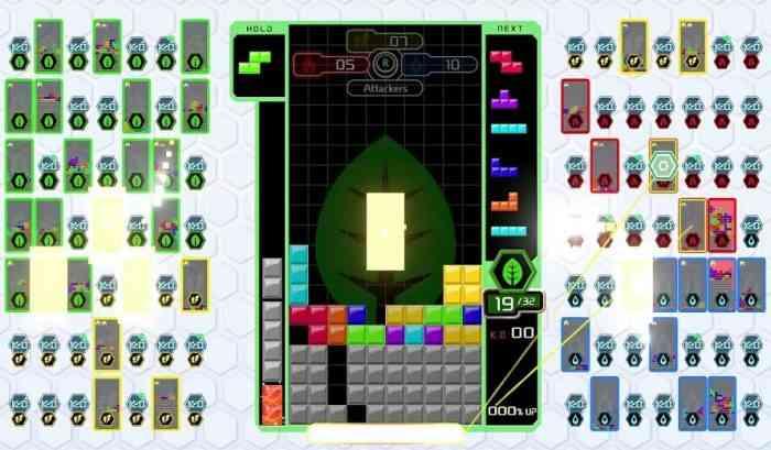 Tetris 99 Team Battle Mode
