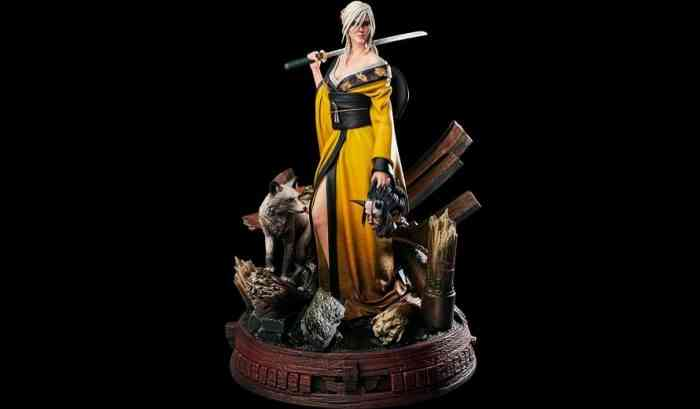 The Witcher 3 Statue