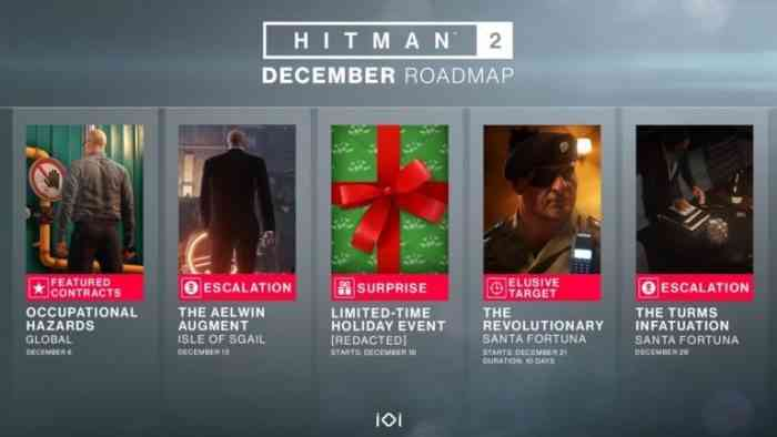 Santa Goes on a Killing Spree in Hitman 2 This Month
