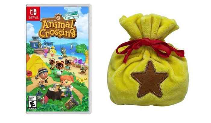 Animal Crossing: New Horizons Bell Bag