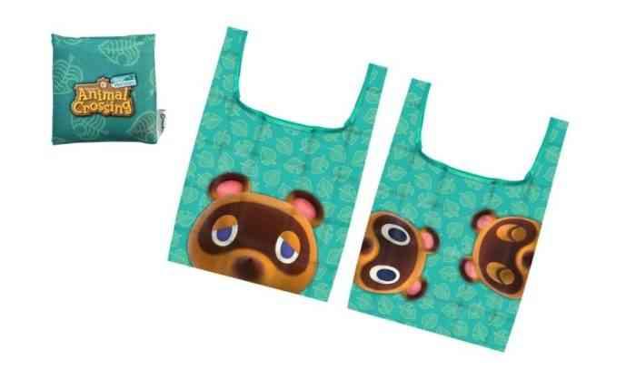 Animal Crossing Tote Bag