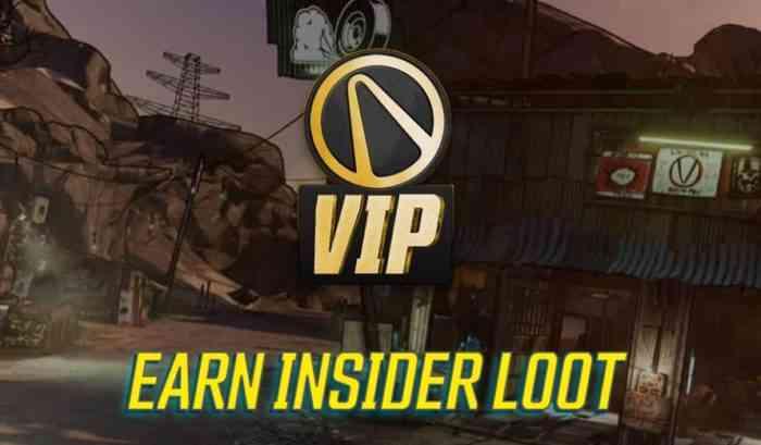 Borderlands 3 Vault Insider Program