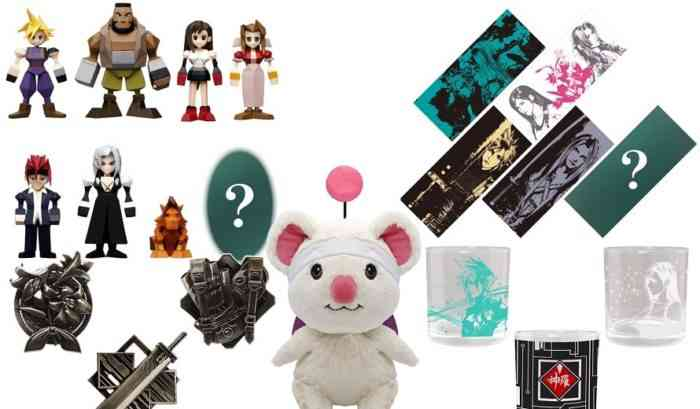 Final Fantasy VII Remake Figures
