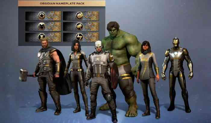Marvel's Avengers Outfits