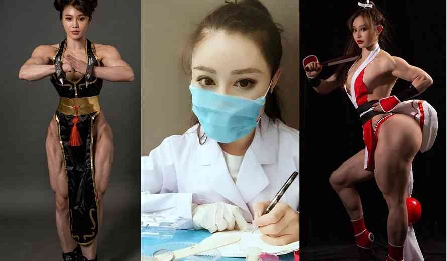 Cosplayer, Doctor, and Bodybuilder, Yuan Herong Fights the Coronavirus | COGconnected