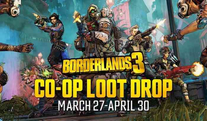 Borderlands 3 Co-op Loot Drop