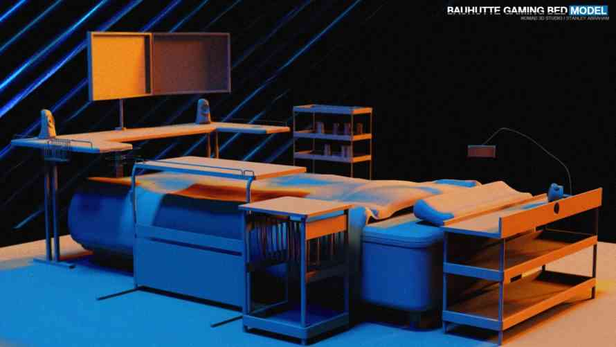 Bauhutte Has Created The Ultimate Gaming Bed Cogconnected