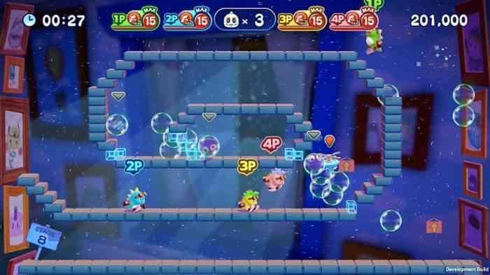 bubble bobble 4 friends top